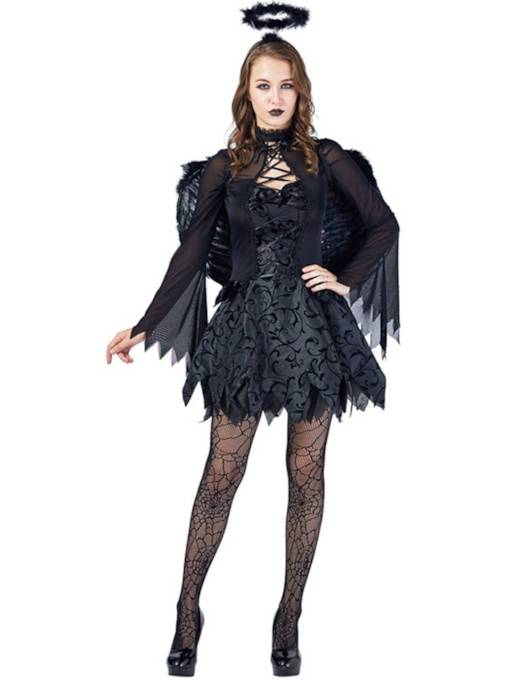 Fallen Angel Dress Halloween Costume without Wing