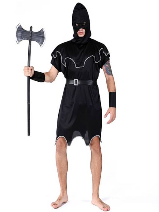 Executioner Halloween Costume without Prop on Hand