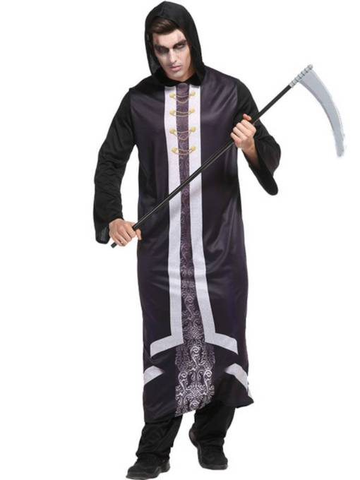 Azrae Halloween Costume for Men without Prop on Hand