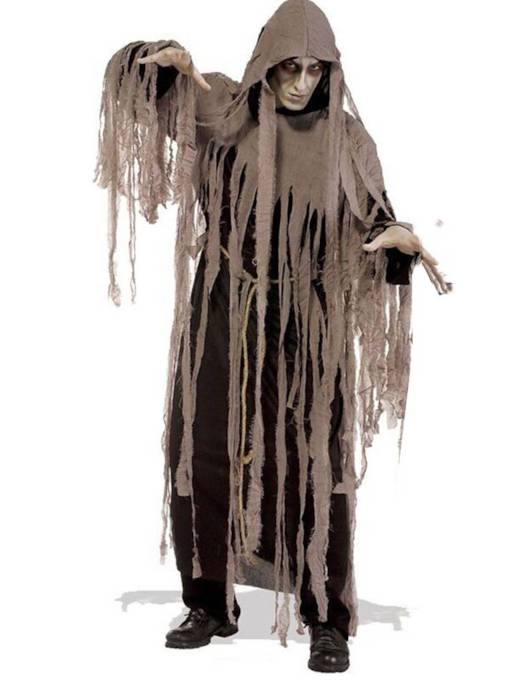 Asymmetric Adult Night Zombie Halloween Costume