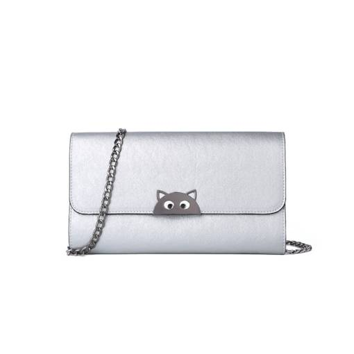 Cartoon Rectangle Magnetic Snap Women Crossbody Bag