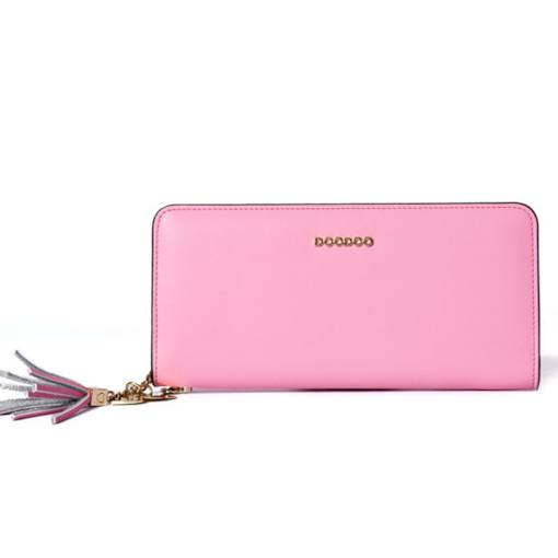 Fashion Synthetic Leather Long Wallet