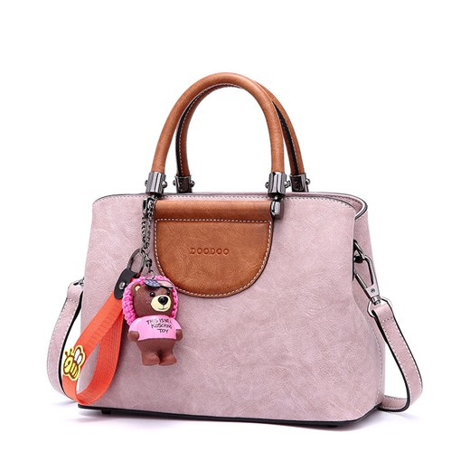 Cartoon Cute Color Block Women Tote Bag