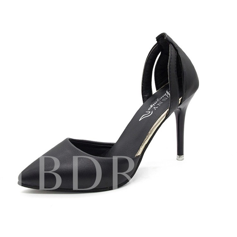 Buy Stiletto Heel Pointed Toe Slip-On Ladylike Women's Pumps, Spring,Summer,Fall, 13381625 for $34.04 in TBDress store