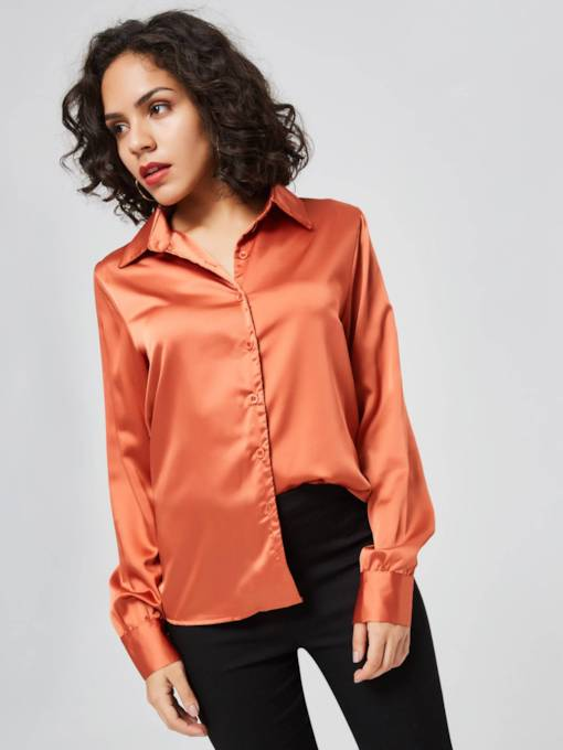 Sexy Backless Lace Up Backless Women's Shirt