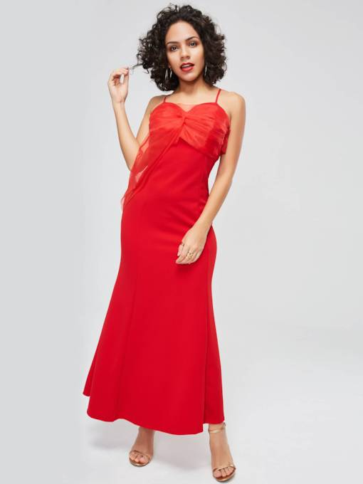 Off Shoulder Elegant Women's Maxi Dress