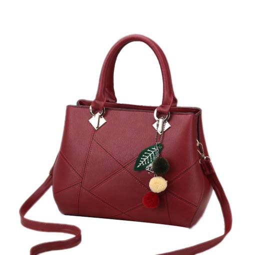 Casual PU Cell Phone Pocket Women Tote Bag