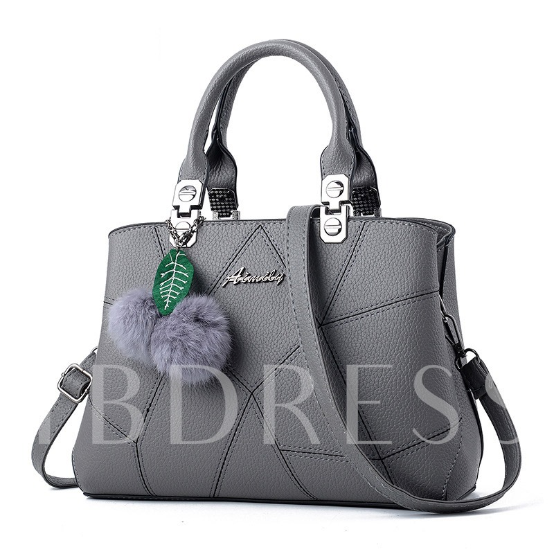 Exquisite Casual PU Quilted Lining Women Tote Bag