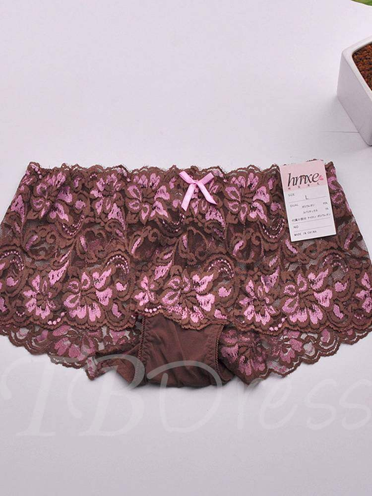 Floral Seamless Panty for Women