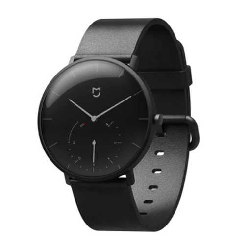 Original Xiaomi Quartz Smart Watch Message Remainder Waterproof Stainless Steel Case Pedometer