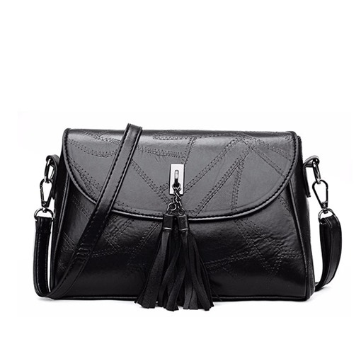 Fashion Rectangle Magnetic Snap Medium Crossbody Bag