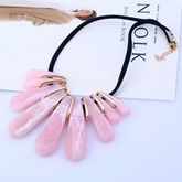 Jelly Color Bohemian Stone Necklace