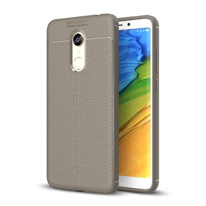 Phone Shell All-inclusive TPU Litchi Grain Pattern Protective