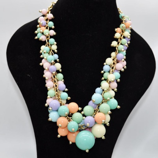 Colorful Candy Color Handcraft Necklace