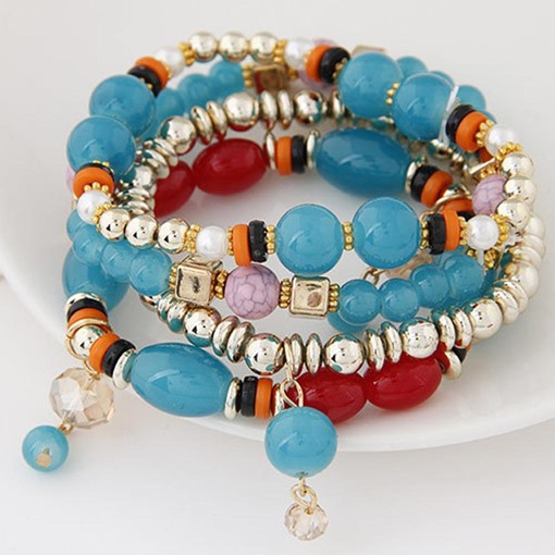 Bohemian Rosary Multilayer Bracelet