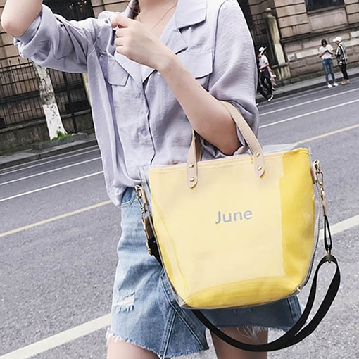 June Holiday Summe PVC Tote Bag