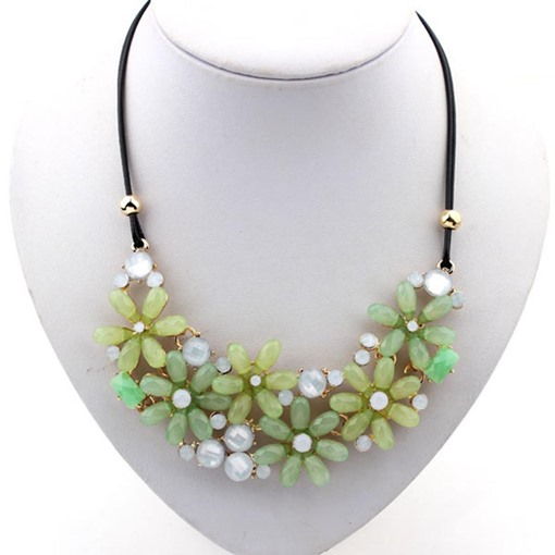 Candy Color Floral Sweet Necklace