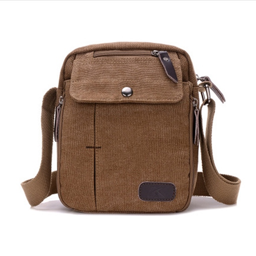 Concise Plain Nylon Men's Bag