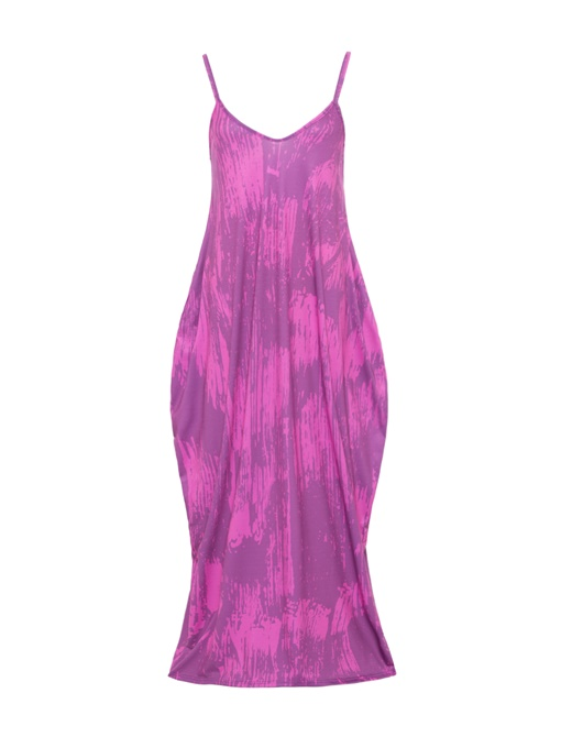 Strappy Loose Women's Maxi Dress