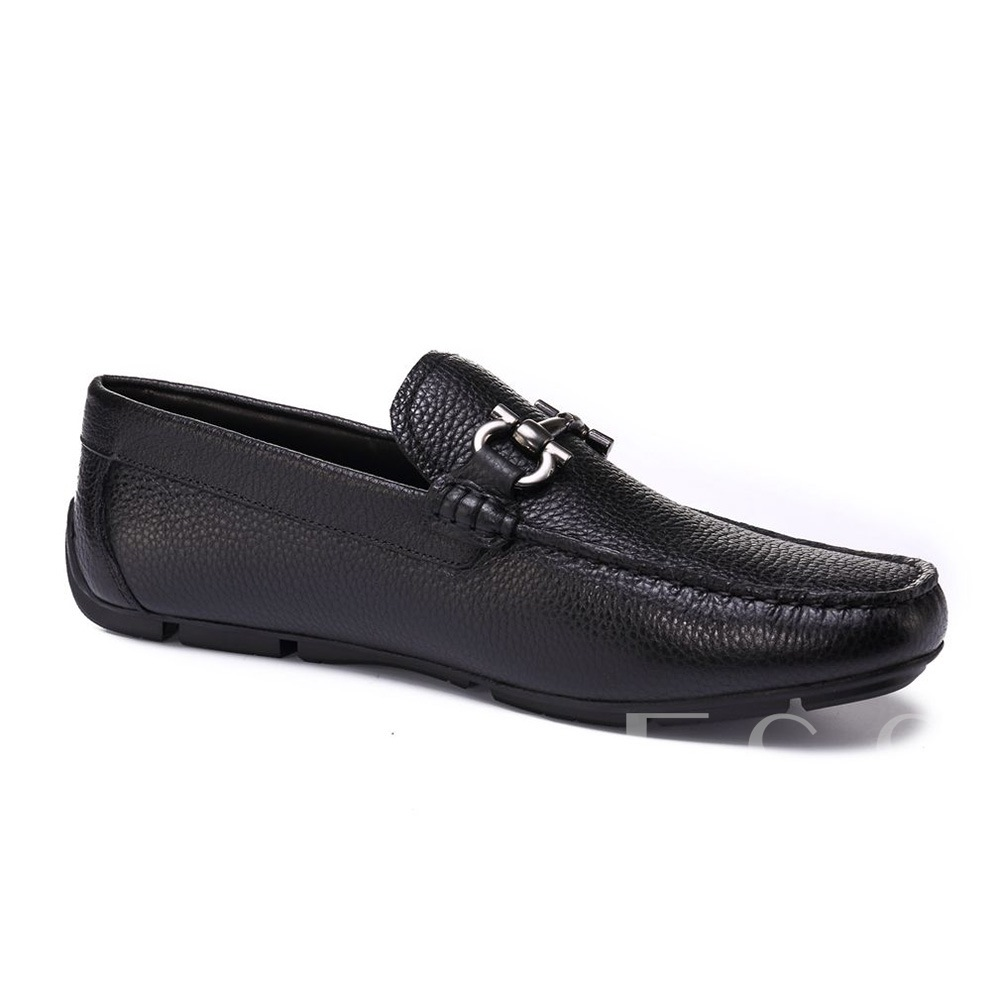 Square Toe Slip-On Professional Shoes for Man