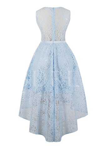 Presale Scoop Neck A Line Lace Homecoming Dress