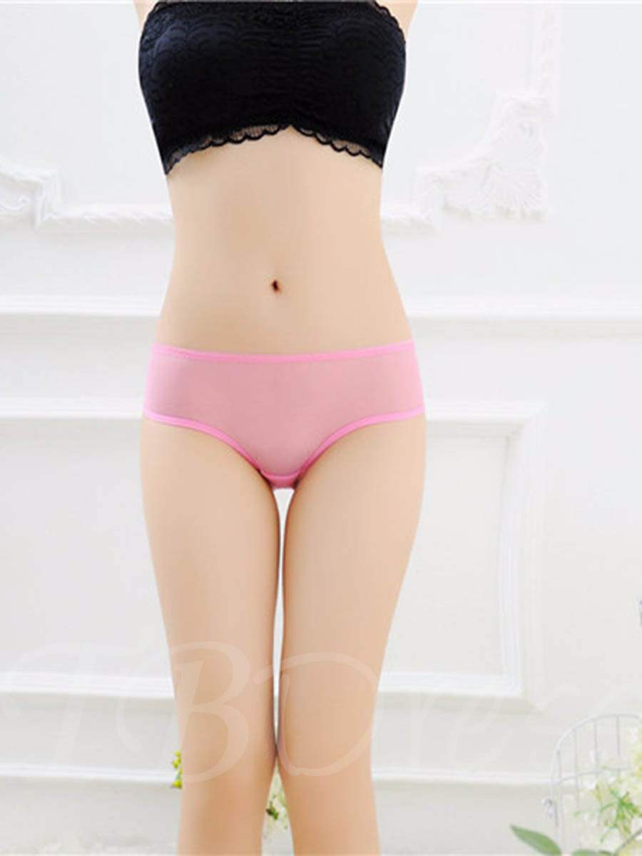 Embroidery Lace Breathable Sexy Panty