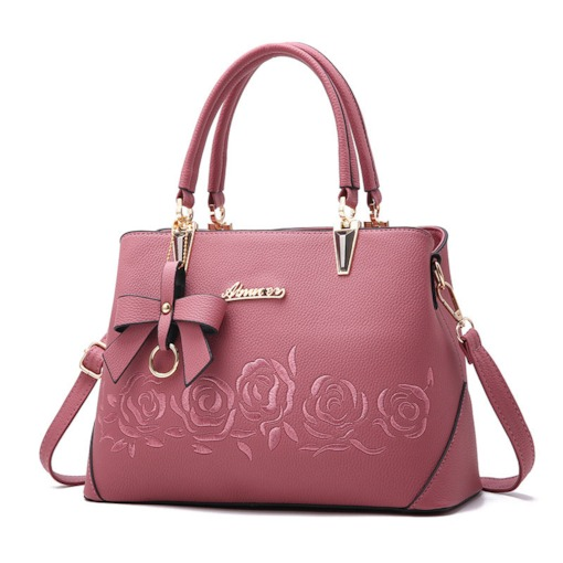 Vogue Casual Floral Bowknot Tote Bag