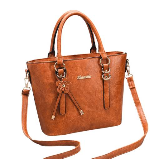 Exquisite Bowknot Belt Decorated Tote Bag