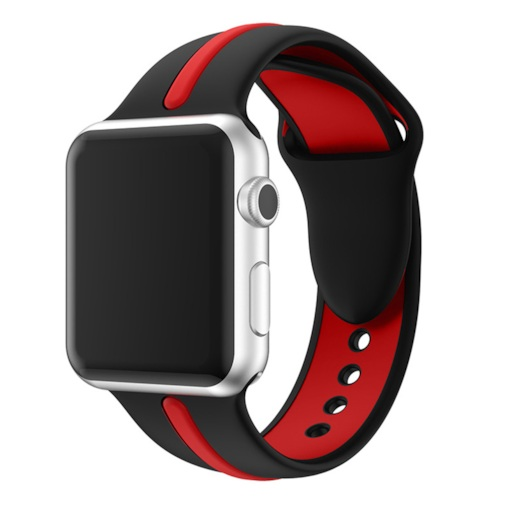 bande de montre apple, bandes de remplacement de silicone iwatch