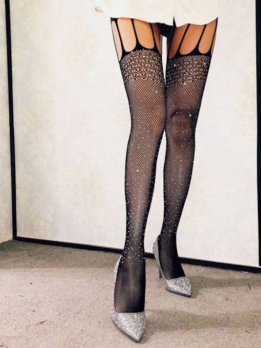 Gypsophila Hollow Fishnet Sexy Pantyhose Stocking