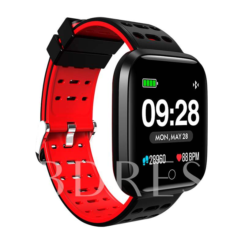 Q8 Smart Watch Heart Rate Monitor Screen Brightness Adjustable Fitness Tracker