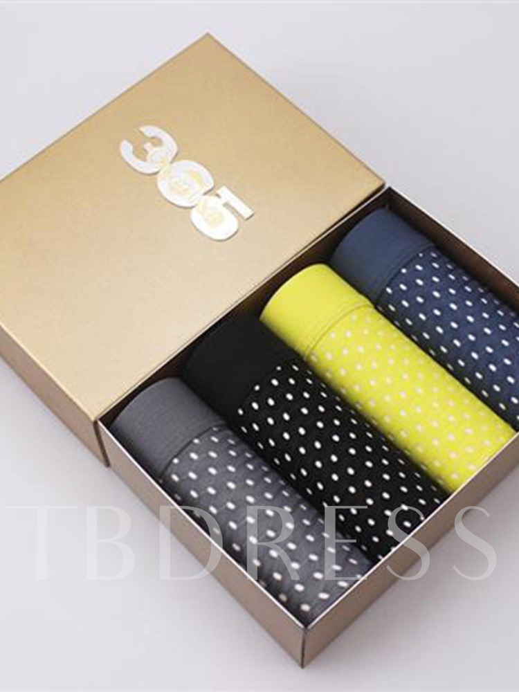 Mesh Breathable Ice Silk Boxer Briefs 4 Pieces