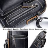 Plain Leather European Square Crossbody Bags