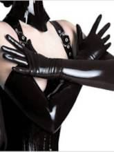 Sexy Accessories PU Over Elbow Gloves