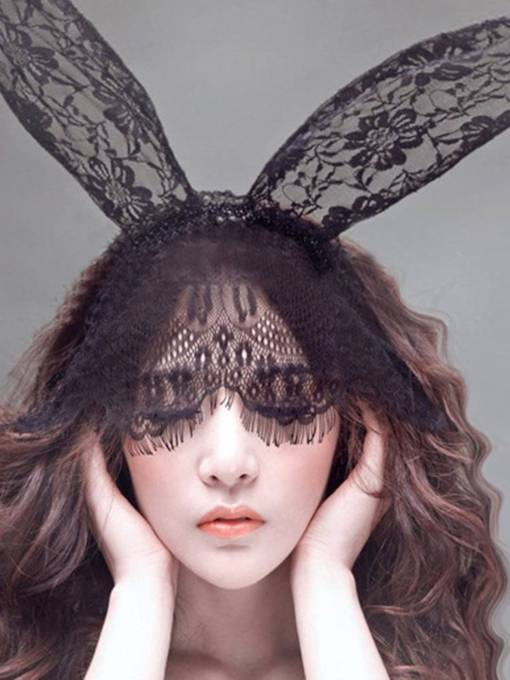 Veil Rabbit Ears Hair Accessories