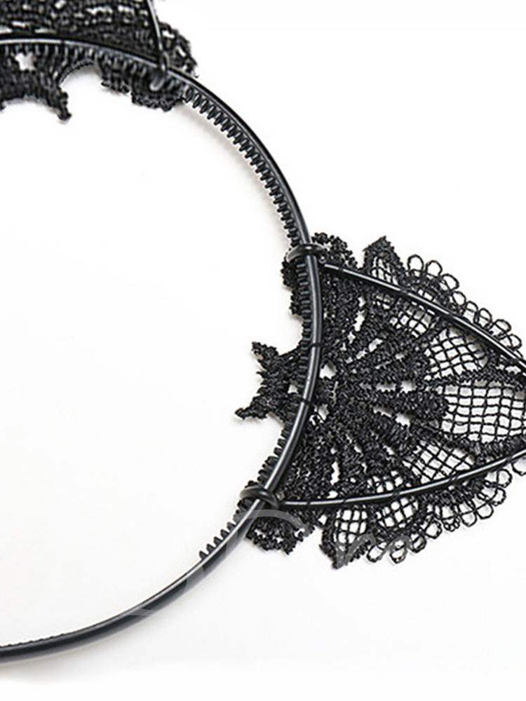 Lace Cat Ears Hair Accessories