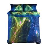 Attractive Charming Galaxy Design Polyester 4-Piece Duvet Cover Sets