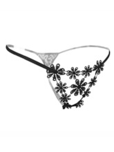 Floral Hollow Low-Waist G-string