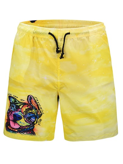 Quick Dry Loose Men's Beach Shorts
