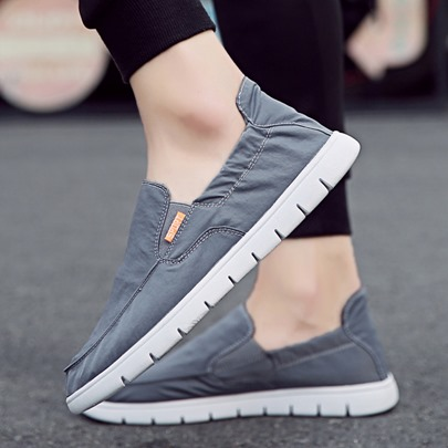 Round Toe Cloth Casual Shoes for Men