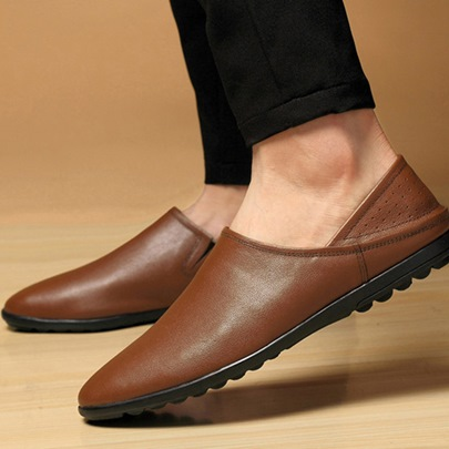 Low-Cut Upper Comfortable Slip-On Casual Shoes for Men