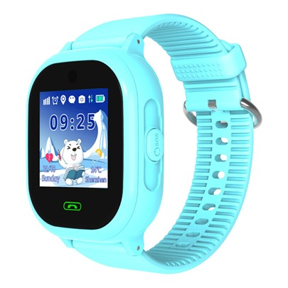 DS05 Children's Waterproof Phone Watch Touch Screen Alarm Call Positioning