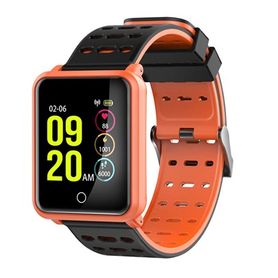Smart Wear Watch Blood Pressure Bracelet Waterproof Large Color Screen