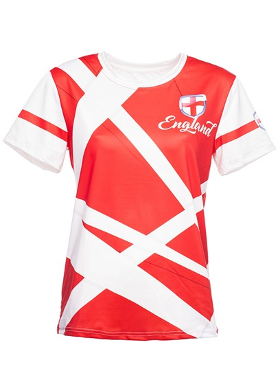 3D Print World Cup Sport Football Women's T-Shirt