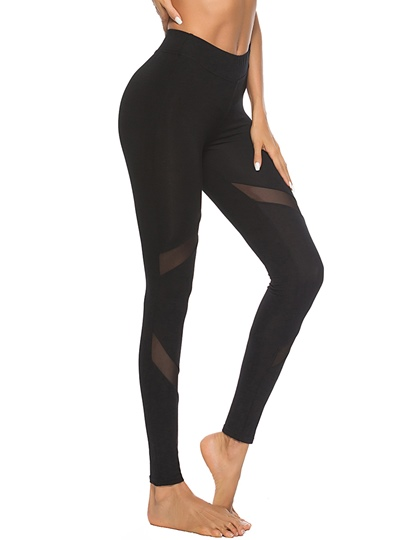 Plain See-Through Skinny Women's Leggings