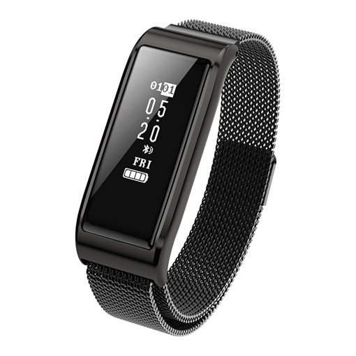 Smart Bracelet B29 Milan Steel Heart Rate Blood Pressure Waterproof Step