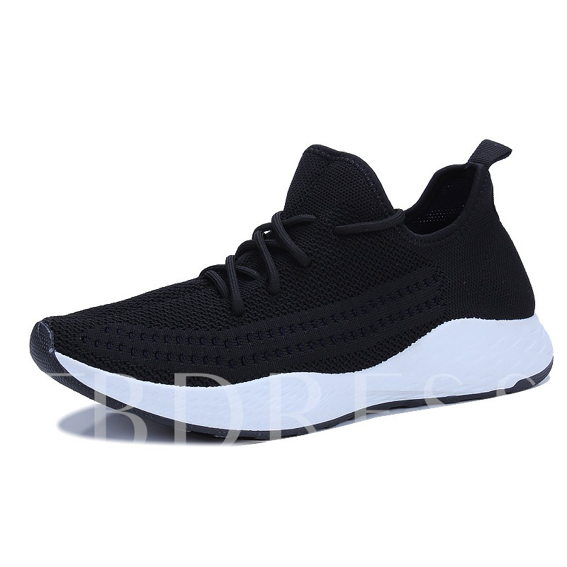 Buy Mesh Lace-Up Round Toe Breathable Men's Sneaker, Spring,Summer,Fall, 13303185 for $38.43 in TBDress store