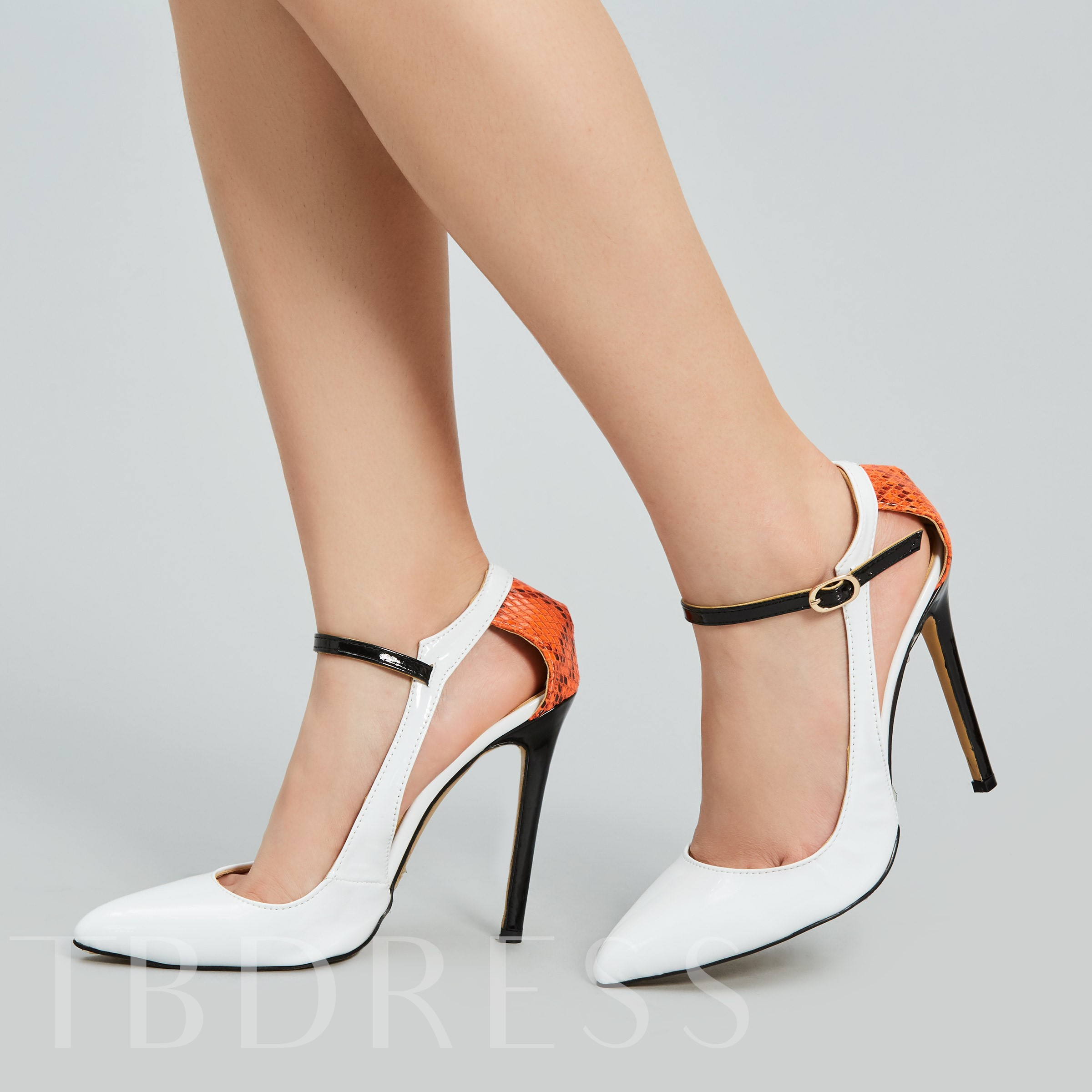 Buy Pointed Toe Stiletto Heel Hollow Lace Women's Pumps, Sheshoe, Spring,Fall, 12440542 for $58.99 in TBDress store