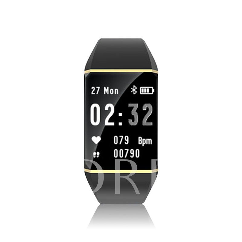 IT110 Big Screen Smart Bracelet Motion Music Control Incoming Call Reminder