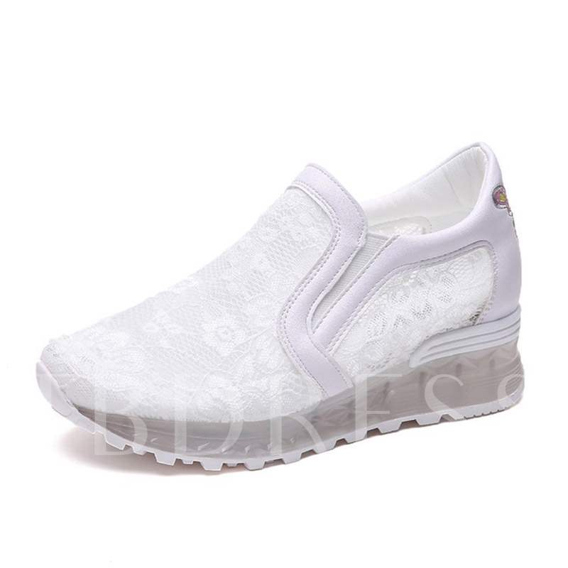 Buy Mesh Lace Patchwork Slip-On Sneaker for Women, Spring,Summer,Fall, 13305004 for $35.96 in TBDress store